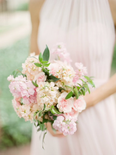 Blush bridesmaid bouquet